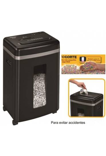 Destructora Fellowes 450M microcorte