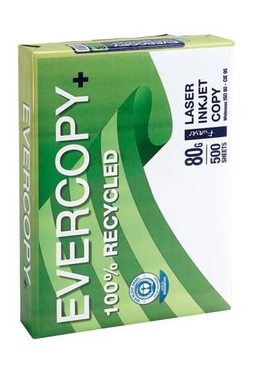 Papel reciclado Clairfontaine A4 80gr 500 hojas