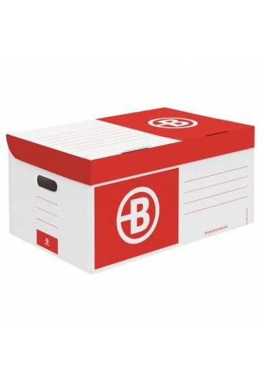 Contenedor de archivo gran capacidad JMB rojo