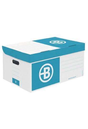 Contenedor de archivo gran capacidad JMB azul