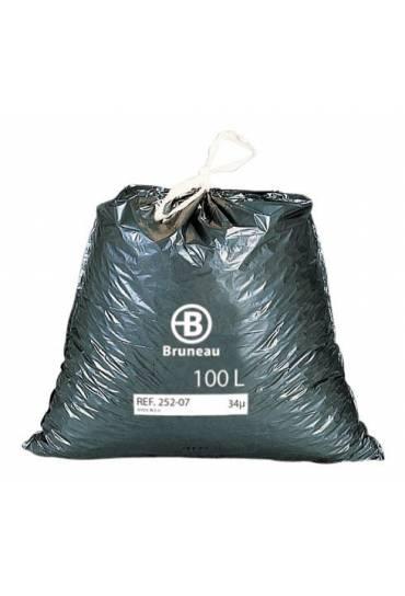 Bolsas basura 100l autocierre rollo 100 unidades