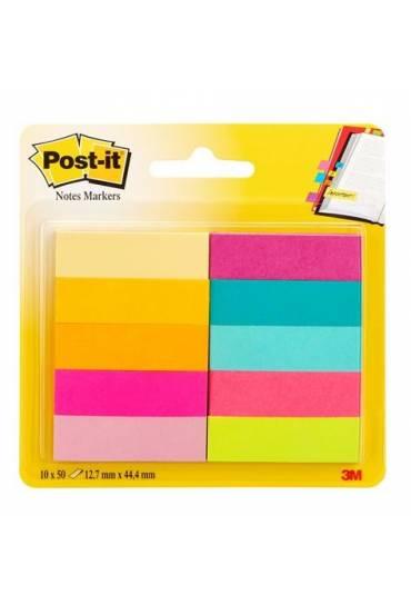 Marcapaginas Post It  papel 10 colores