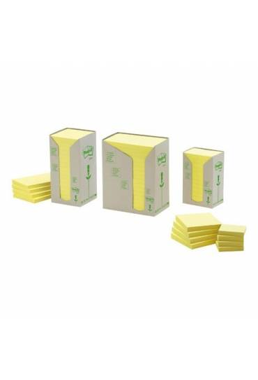 Bloc notas Post It recicladas 76x76 caja 6 unds