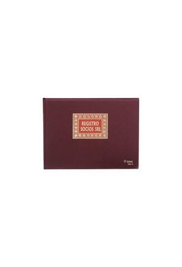Libro Registro socios SRL folio apaisado