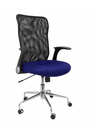 Silla oficina Minaya asiento tejido 3D