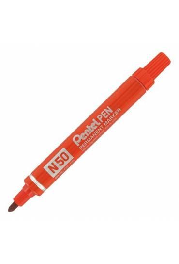 Marcador Pentel N50 Rojo