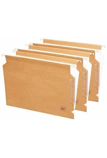 Carpetas colgantes Bicolor A4 visor lateral 25 und