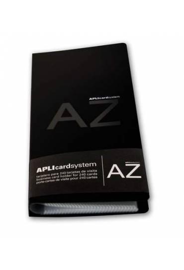 Tarjetero polipropileno 240 tarjetas Apli