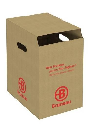 Pack 10 papeleras kraft 32 litros JMB