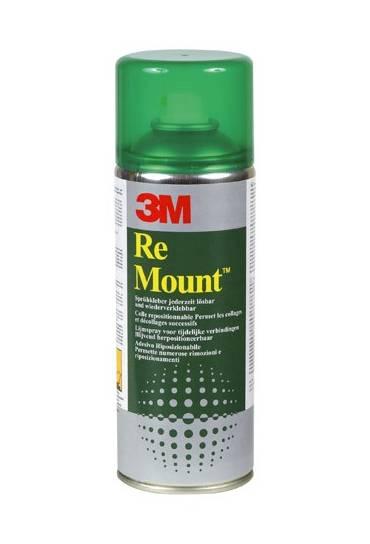 Pegamento Spray Remount 3M reposicionable