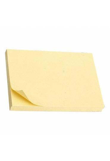Bloc notas adhesivas Pos it 76 x 127 amarillo