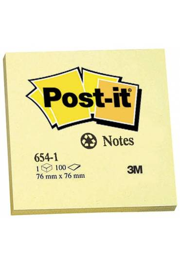 Bloc post-it recicla.76x76mm a