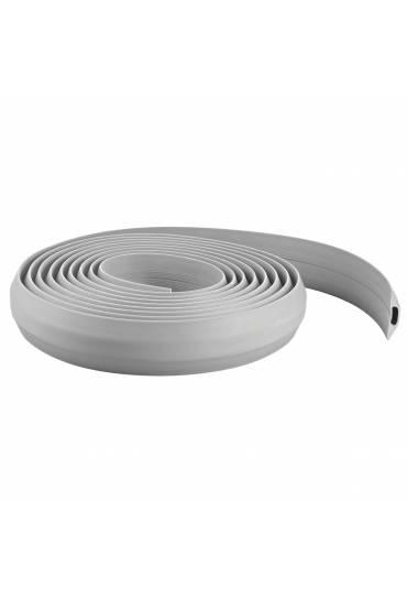 Regleta protegecables extra ancho 9 m gris