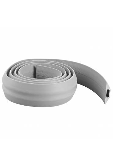 Regleta protegecables extra ancho 3 m gris
