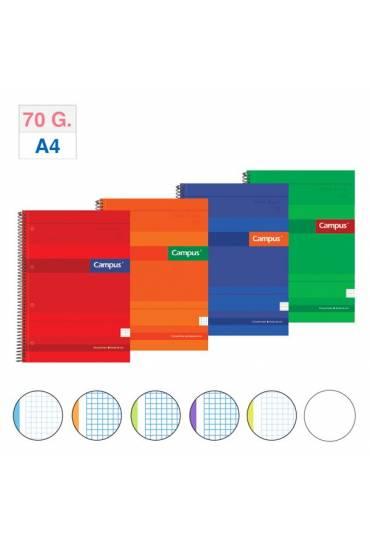Cuaderno A4 Campus 160h 70 gr liso surtidos