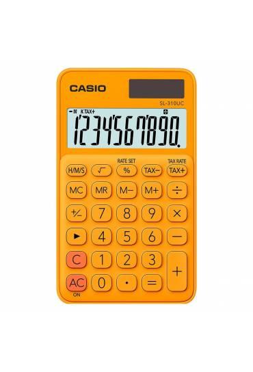 Calculadora Casio SL-310UC roja