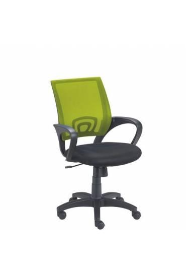 Silla oficina Spring respaldo malla verde