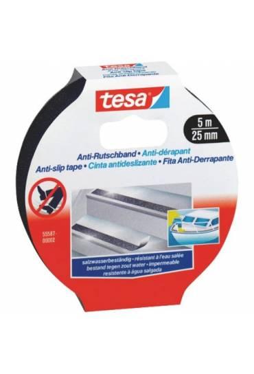 Cinta antideslizante negra 5mx25mm Tesa