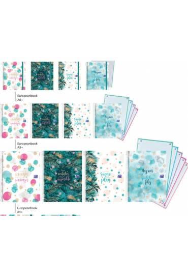 Cuaderno Oxford&Me A4 120h 5x5 surtidos