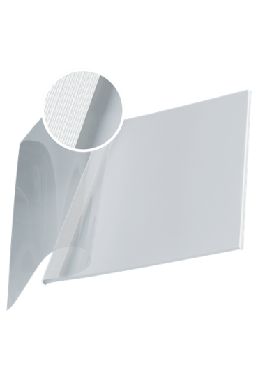Tapa Leitz Impressbind flexible 36-70 hojas blanca