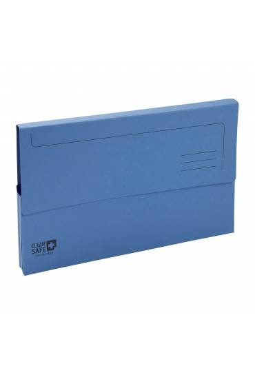Subcarpeta bolsa antibacteriana CleanSafe 5ud azul