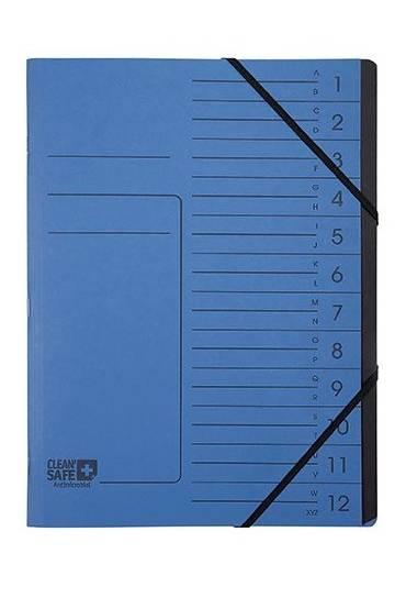 Clasificador antibacteriano 12 separadores carton