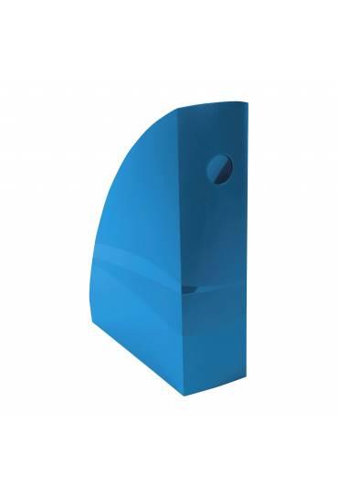 Revistero antibacteriano CleanSafe plastico azul