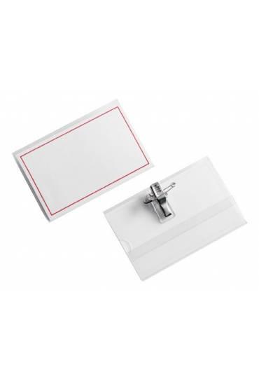 Identificadores pinza/imperdible 54X90 caja 50