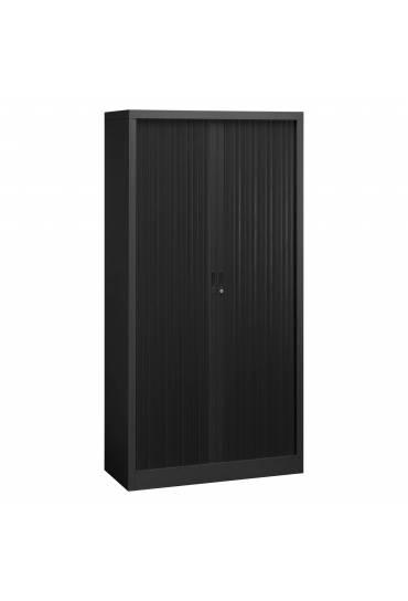 Armario persiana desmontable Union 195x100 estructura negra
