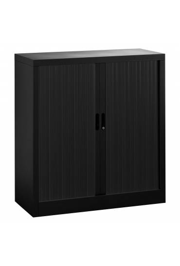 Armario persiana desmontable Union 107x100 estructura negra