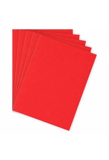 Subcarpetas A4 210 gramos JMB rojo vivo 100 unds