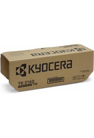 Toner Kyocera Mita TK3160BK Ecosys P3045Dn negro 1T02T90NL0
