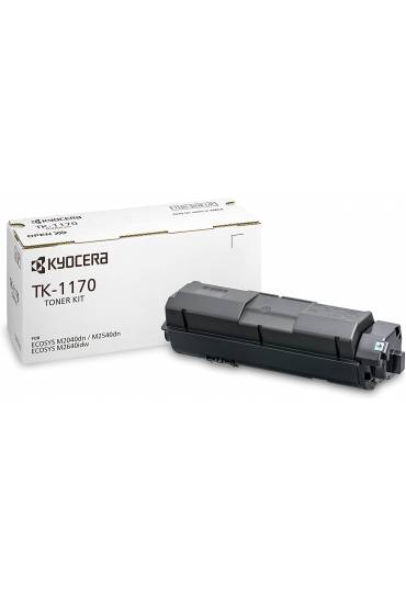 Toner Kyocera Mita TK1170BK Ecosys M2640 IDW negro 1T02S50NL0