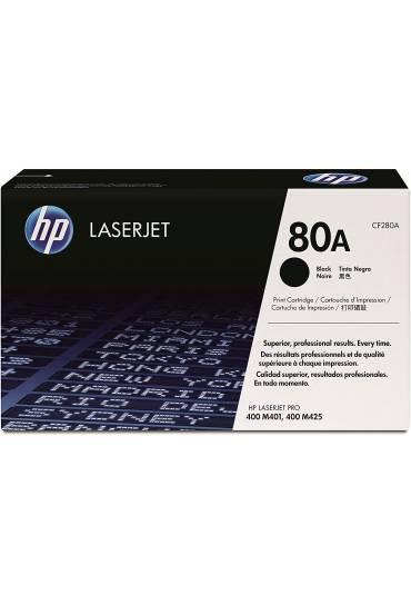 Toner HP Laserjet Nº80A negro CF280A
