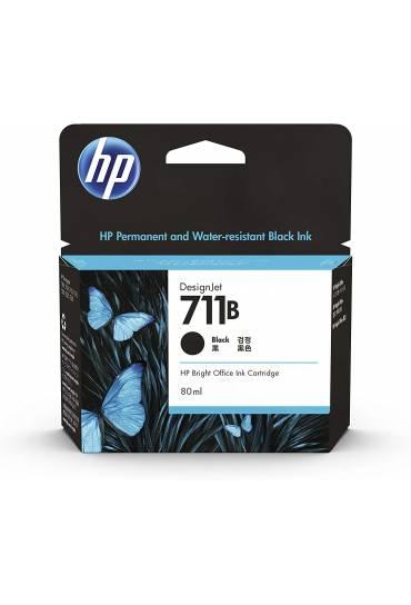 Cartucho HP Nº711 alta capacidad negro CZ133A
