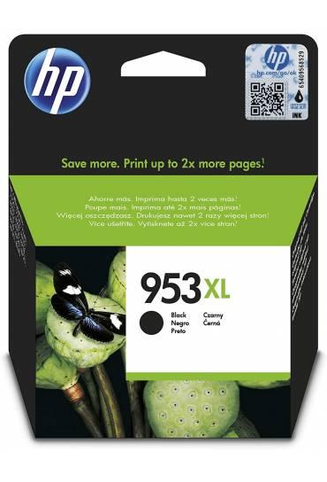 Cartucho HP Nº953XL alta capacidad negro L0S70AE