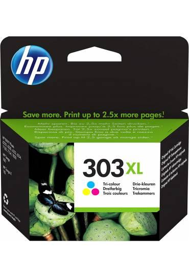 Cartucho HP Nº303XL alta capacidad tricolor T6N03AE
