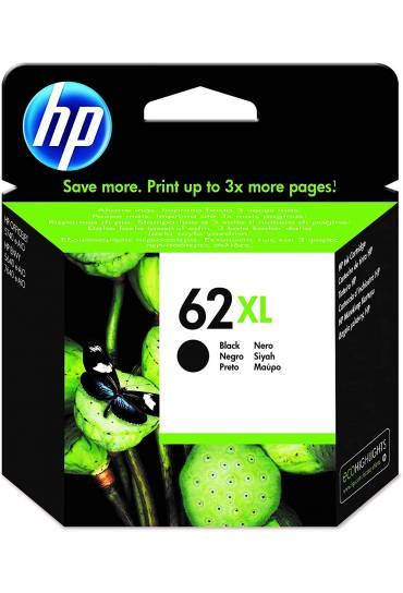 Cartucho HP Nº62XL alta capacidad negro C2P05AE