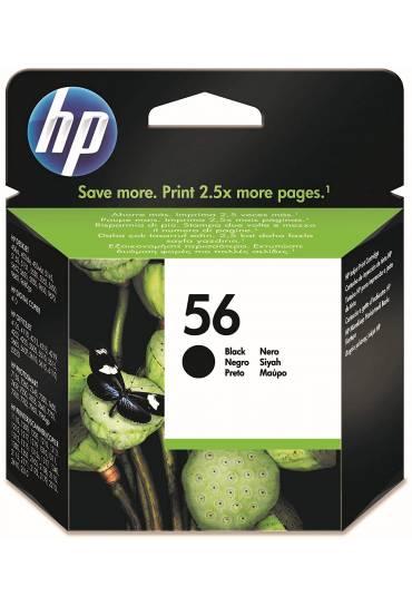 Cartucho HP Nº56 negro C6656AE