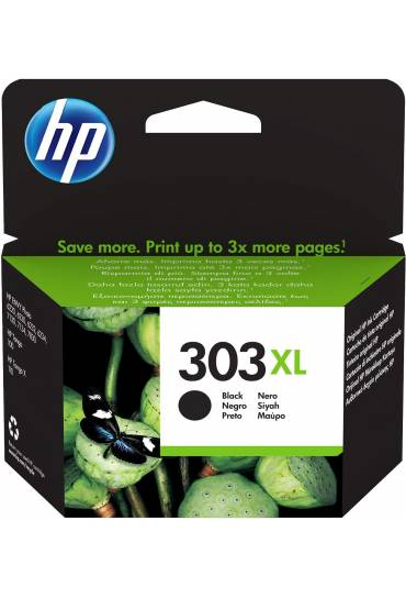 Cartucho HP Nº303XL alta capacidad negro T6N04AE