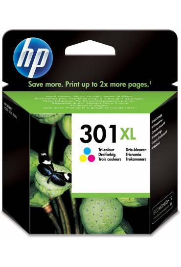 Cartucho HP Nº301XL alta capacidad tricolor CH564EE