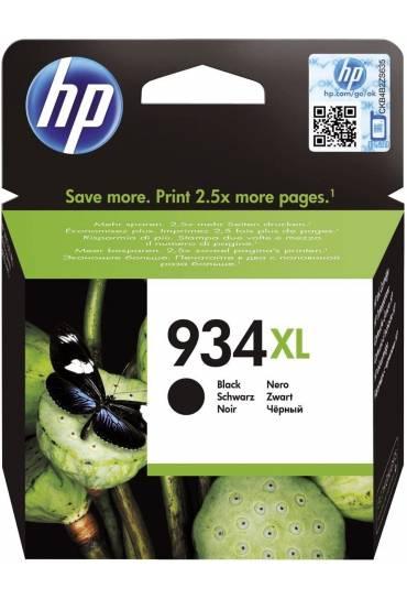 Cartucho HP Nº934XL alta capacidad negro C2P23AE