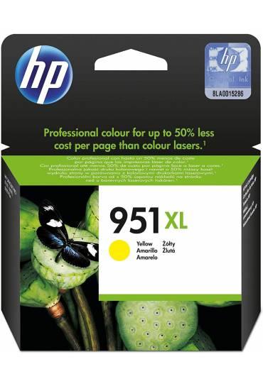 Cartucho HP Nº951XL alta capacidad amarillo CN048AE