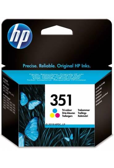 Cartucho HP Nº351 tricolor CB337EE