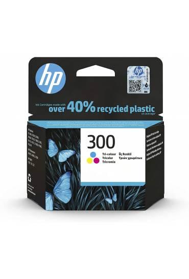 Cartucho HP Nº300 tricolor CC643EE