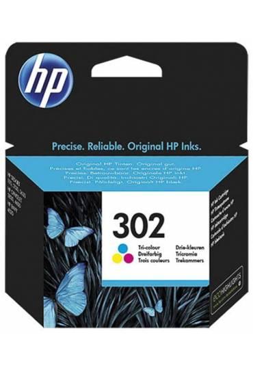 Cartucho HP Nº302 tricolor F6U65AE