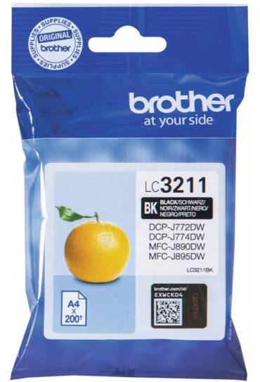 Cartucho tinta Brother MFC J890DW negro
