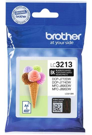 Cartucho tinta Brother MFC J890DW negro LC3213BK