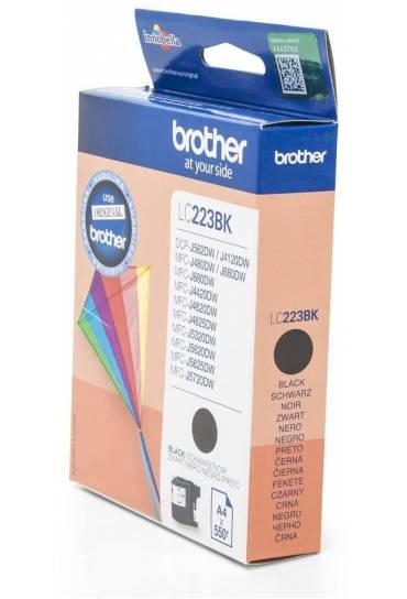 Cartucho tinta Brother MFC J4420DW negro LC223BKBP