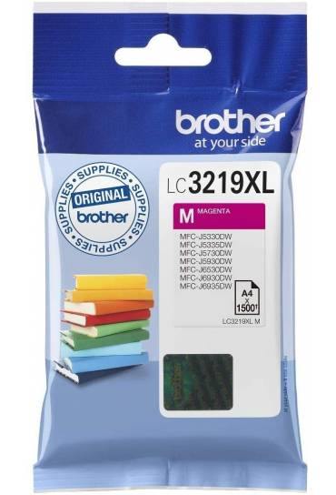 Cartucho tinta Brother MFC J6530DW magenta LC3219XLM